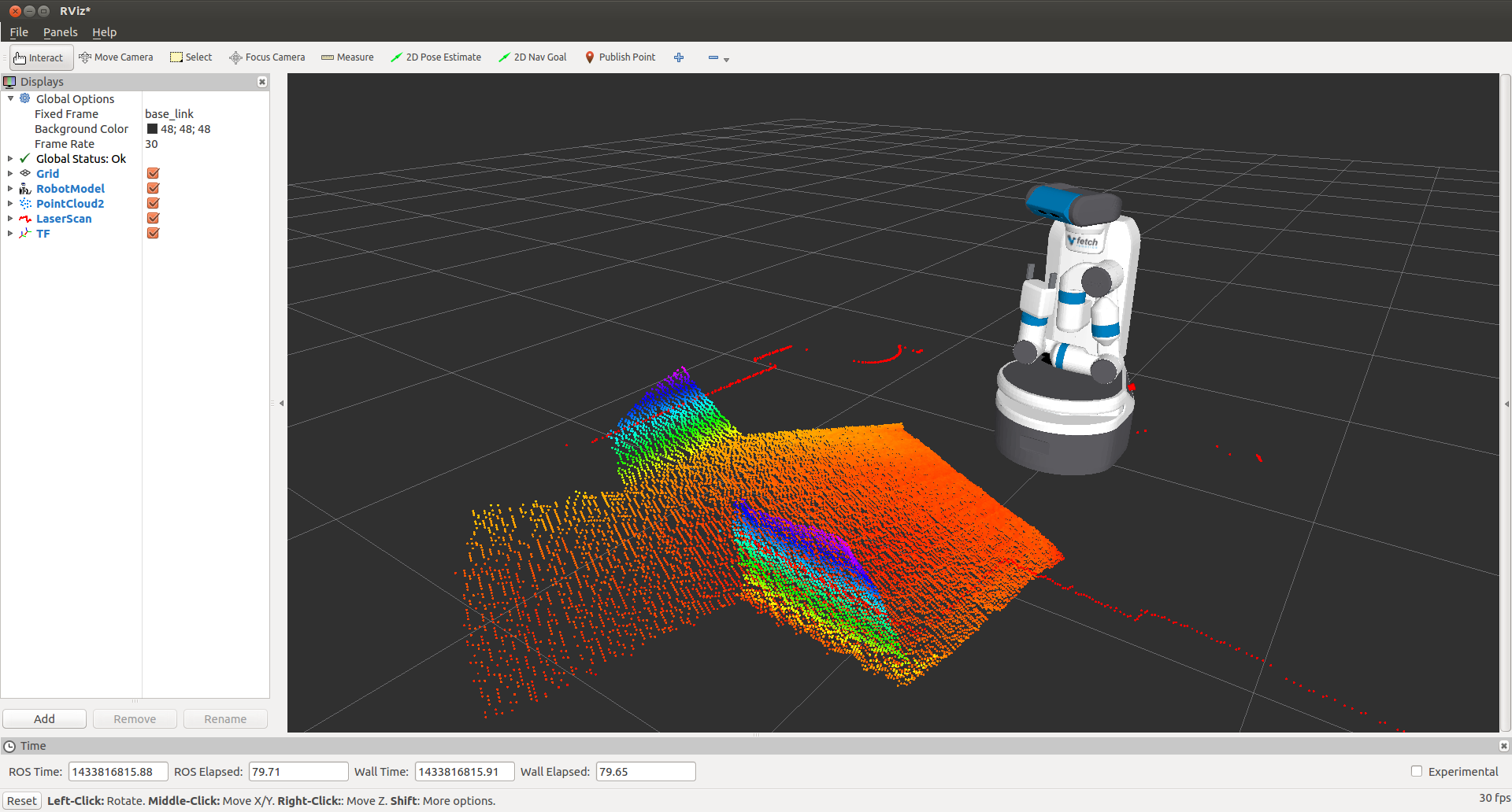 Tutorial: Gazebo Simulation — Fetch & Freight Research Edition